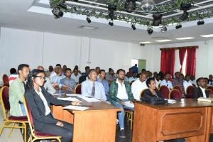 A section of participants of the meeting
