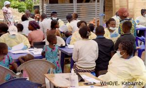 Ebola vaccination in Vighole, 31 May 2019