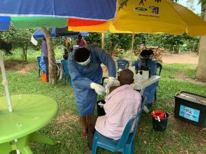 Community vaccinantion against Ebola Virus Disease in Kirombe Village, Kasese District
