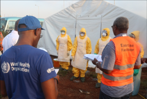 Ebola simulation drills in Tanzania trade worry for calm at border entry points