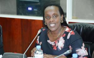 Dr Diane Gashumba, Minister of Health