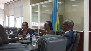 Minister of Health, Dr Diane Gashumba in Press Conference