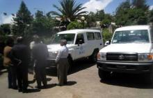 02 WHO handing over the two vehicles to MoH