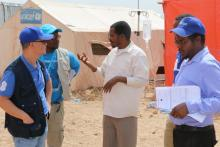"WHO works with other UN agencies in the field to ensure a coordinated response to the outbreak in the spirit of ""Delivering as One""."