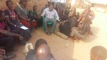 Sensitization of community leaders on the signs and symptoms of AFP and their role