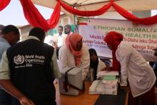 WHO Central team on supportive supervision during measles SIA in Somali Ethiopia