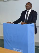 Permanent Secretary of the Ministry of Health and Social Services, Dr Andreas Mwoombola, chaired the launch