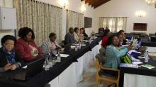 Partcipants at the WHO MEC for Contraceptive Use consultation workshop