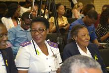 Health workers turned out in numbers at the public lecture on  World Mental Health Day