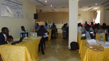 A cross section of the participants at the stakeholder meeting