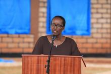 First Lady, Mrs Jeannette Kagame officially launched the ceremony