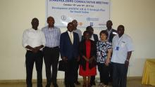 The WHO Team who attended the Stakeholder meeting