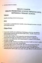 Charter of the School Health Promotion