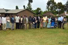 Sub county Councillors after an orientation session on MVD.