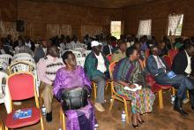 Participants at the cross-border meeting in Kapchorwa