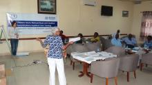 The theoretical session of the training of trainers. Photo: WHO.