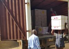 OCV being delivered in Juba