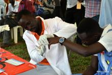 HIV & AIDS testing and counselling services were available