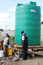Provision of Safe water to communities is a key aspect in the multisectoral response to the cholera outbreak response in Lusaka