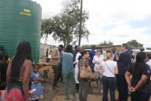 Provision of safe water in the community