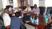 Briefing meeting with MoH on the objective of the mission