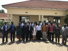 Some of the stakeholders who met to strategize on ways to vaccinate more children
