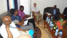 Meeting with the State Minister of Health  and partners on the coverage by malaria interventions and the challenges