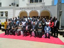 The Guest of Honor in a group photo with the One Health stakeholders