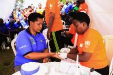 Governor of Southern Province screening for Diabetes