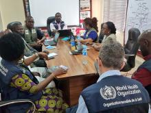 EOC weekly meetings, Abuja at the Nigeria Centre for Disease Control (NCDC)