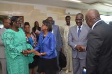 WHO Regional Director for Africa Dr Matshidiso Moeti concludes official visit to Senegal