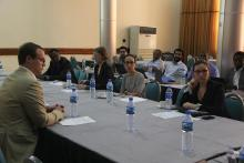 Participants at the review