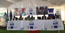 The launch of the Omaheke Waiting Home marked the end of the 4 year EU supported programme on maternal and child health