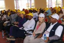 Participants of Launching ceremony of 1st round mOPV2 vaccination campaign