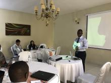 Dr Jose Nyamusore, Division Manager Epidemic Surveillance and Response within the Rwanda Biomedical Center/Ministry of Health
