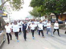 The walk was part of the event