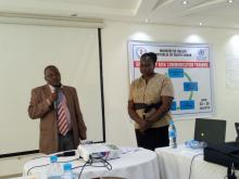 Dr Mutebi addressing the participants