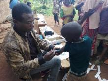 Preventive measles vaccination for displaced children and host community, Gedeo Zone