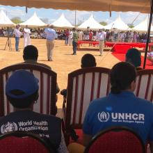 Joint Polio campaign Launch at Garisa, Kenya on Sept 14 2018