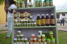 Exhibition of herbal products