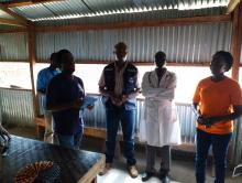 The technical secretariat of South Sudan Humanitarian Fund (SSHF) conducted a field monitoring visit in Bentiu for the recently ended WHO frontline project