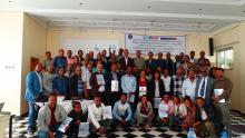 Participants of a workshop from December 17 to 18, 2018 to launch a new guideline for reaching missed tuberculosis cases