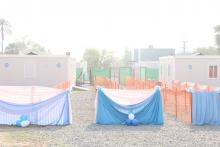 The frontview of Dr John Garang Infectious Disease Unit