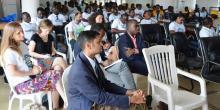 Cross session of key partners and other  participants during the WDD indoor program in Monrovia
