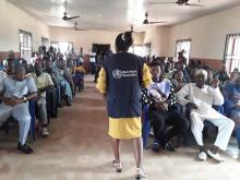 A Lassa Fever sensitization campaign in Edo State, Nigeria.