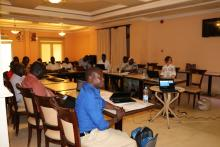 A cross section of particpants during the ECD training in Juba