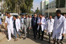 DG while visiting Petros Specialized hospital