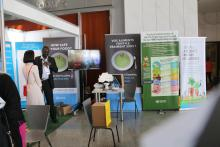 Food Safety workshop exhibition in the AU head quarter