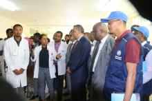 Dr Tedros Adhanom, WHO Director General on offiicial visit in Ethiopia