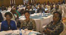 country and national participants at the National Consultative Forum on immunization where the certificate was presented